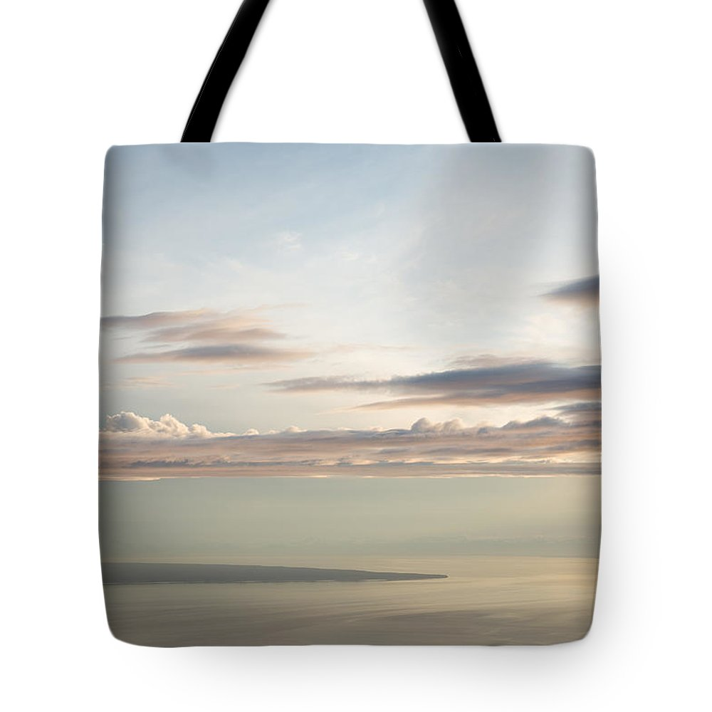 Alaska Tote Bag featuring the photograph Point Possession by Tim Newton