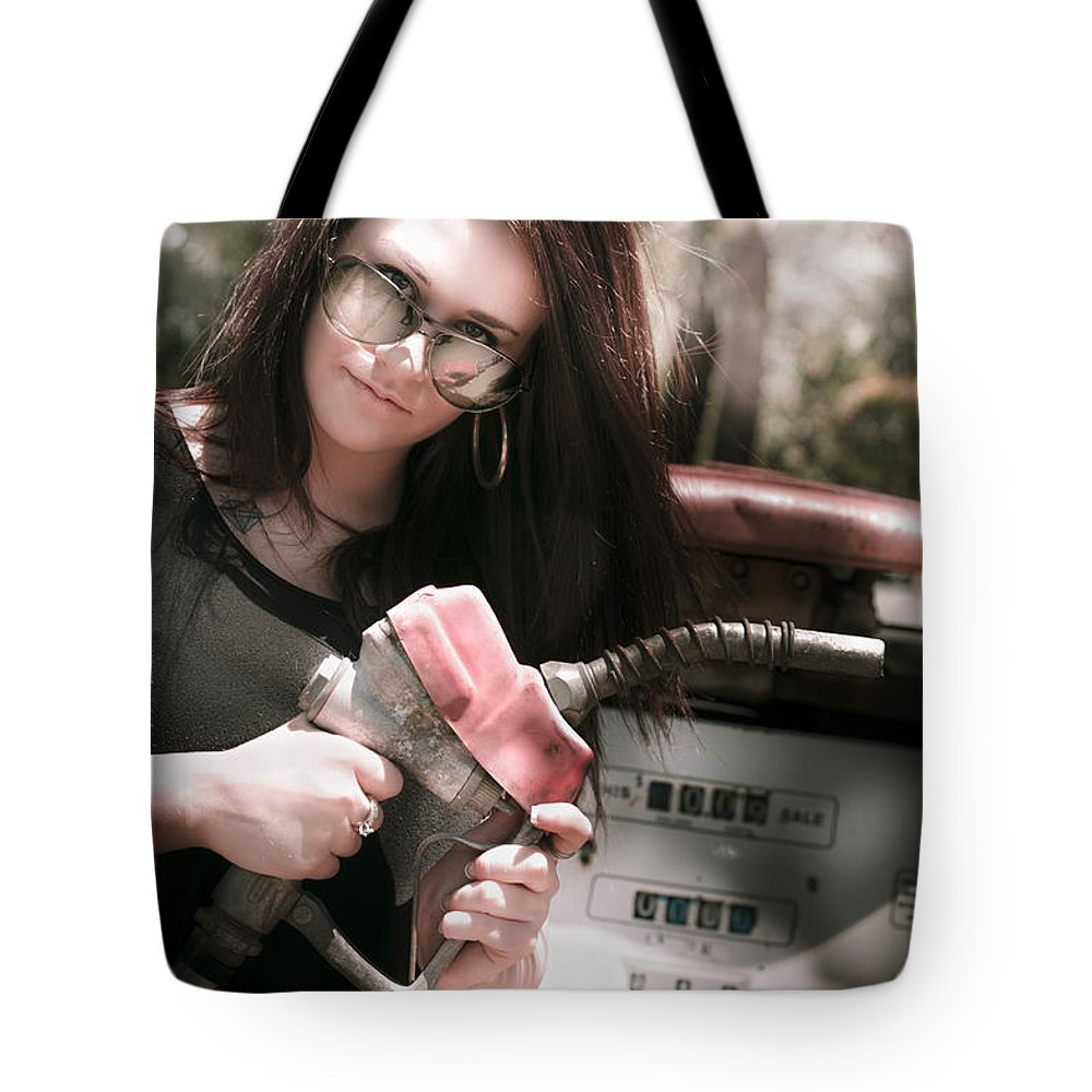 Automobile Tote Bag featuring the photograph Pollution Through Consumption by Jorgo Photography - Wall Art Gallery