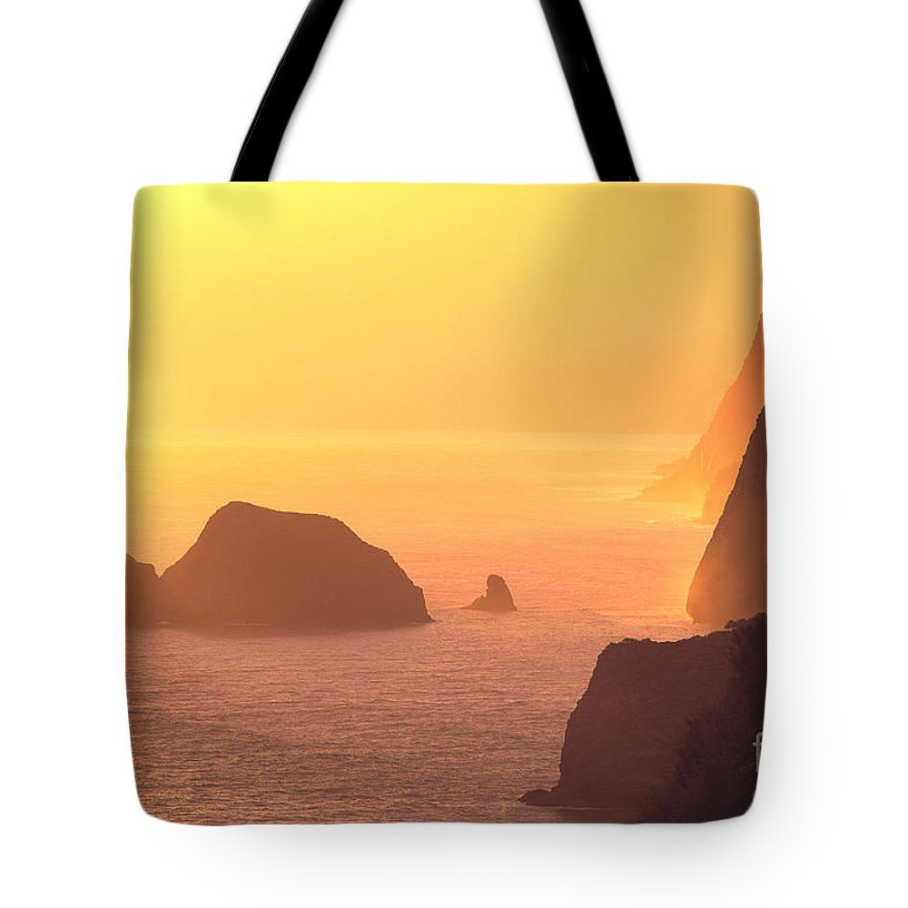 Big Tote Bag featuring the photograph Pololu Valley Lookout by Greg Vaughn - Printscapes