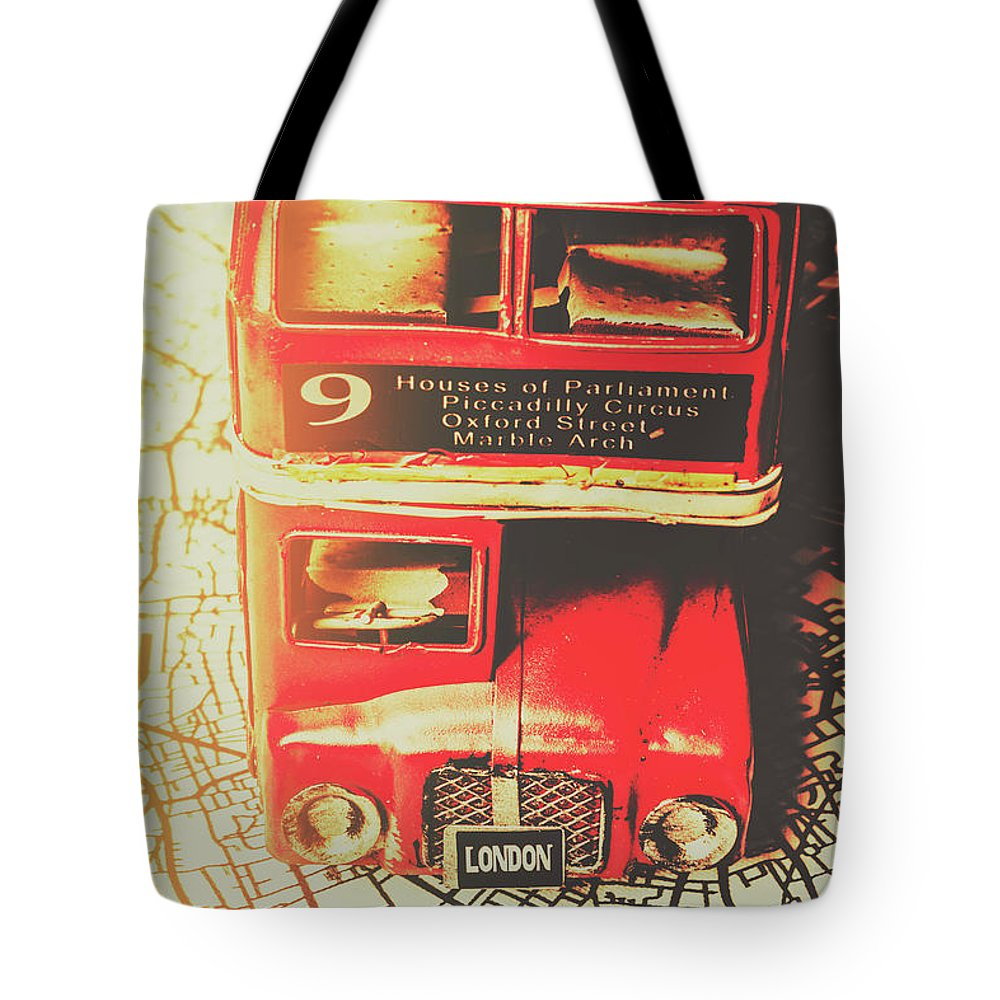 Street Tote Bag featuring the photograph Pommy Promenade by Jorgo Photography - Wall Art Gallery
