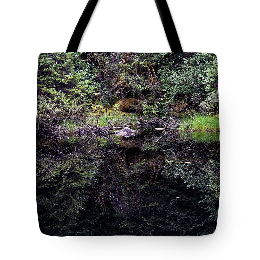 Tongaass Tote Bag featuring the photograph Pond Reflections -- Tongass National Forest Alaska by Kenneth Lempert