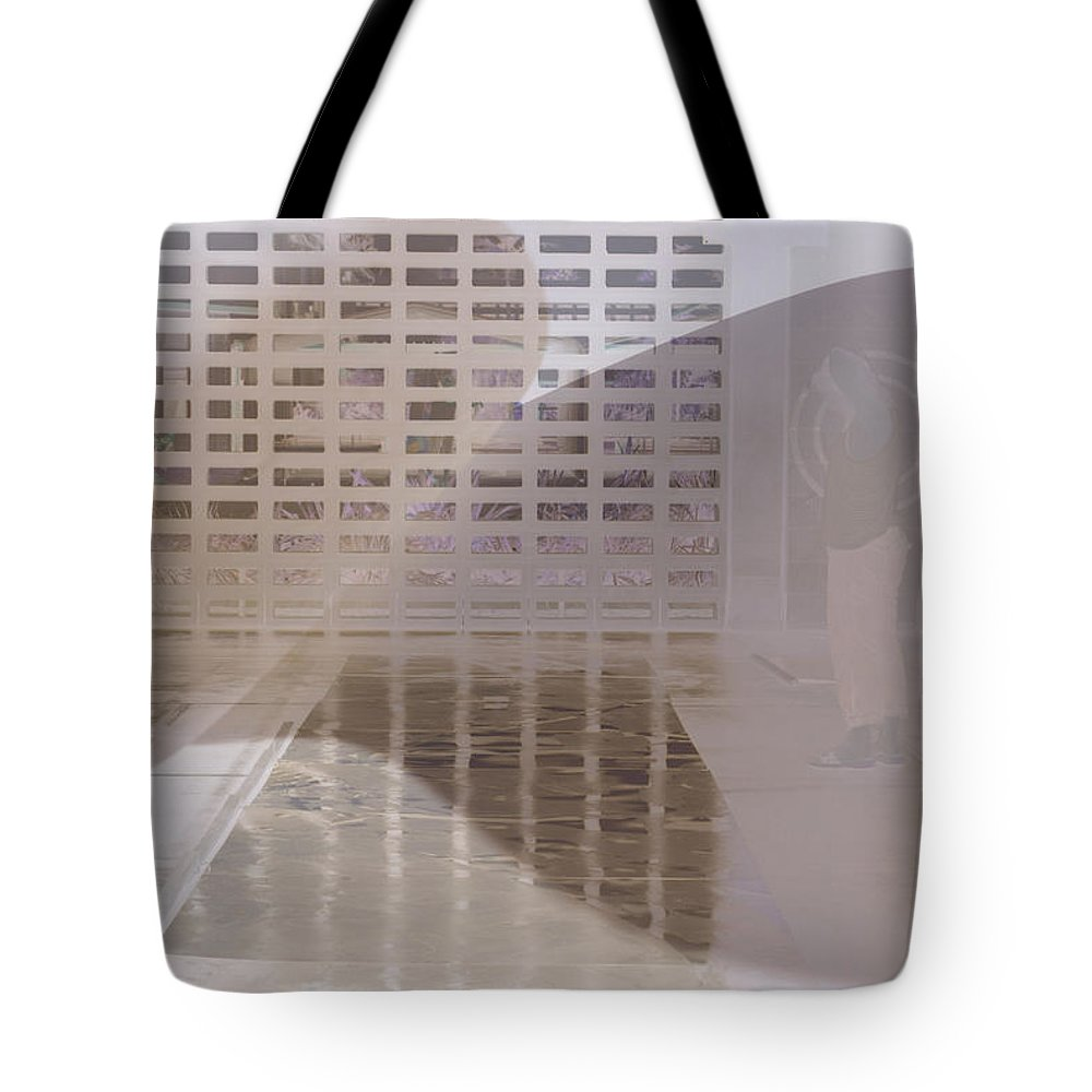 Pondering Tote Bag featuring the photograph Pondering by Kerryn Madsen-Pietsch