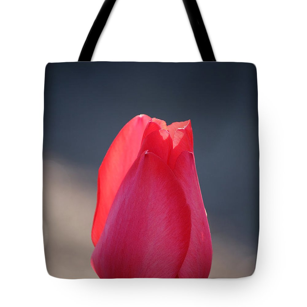 Flower Tote Bag featuring the photograph Pontificating Pink by Susan Herber