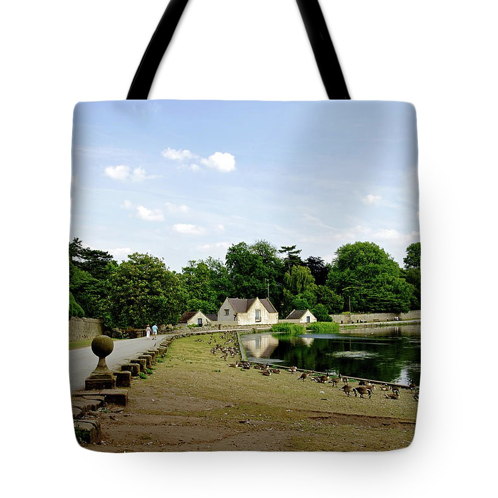 Melbourne Tote Bag featuring the photograph Pool Road - Melbourne by Rod Johnson
