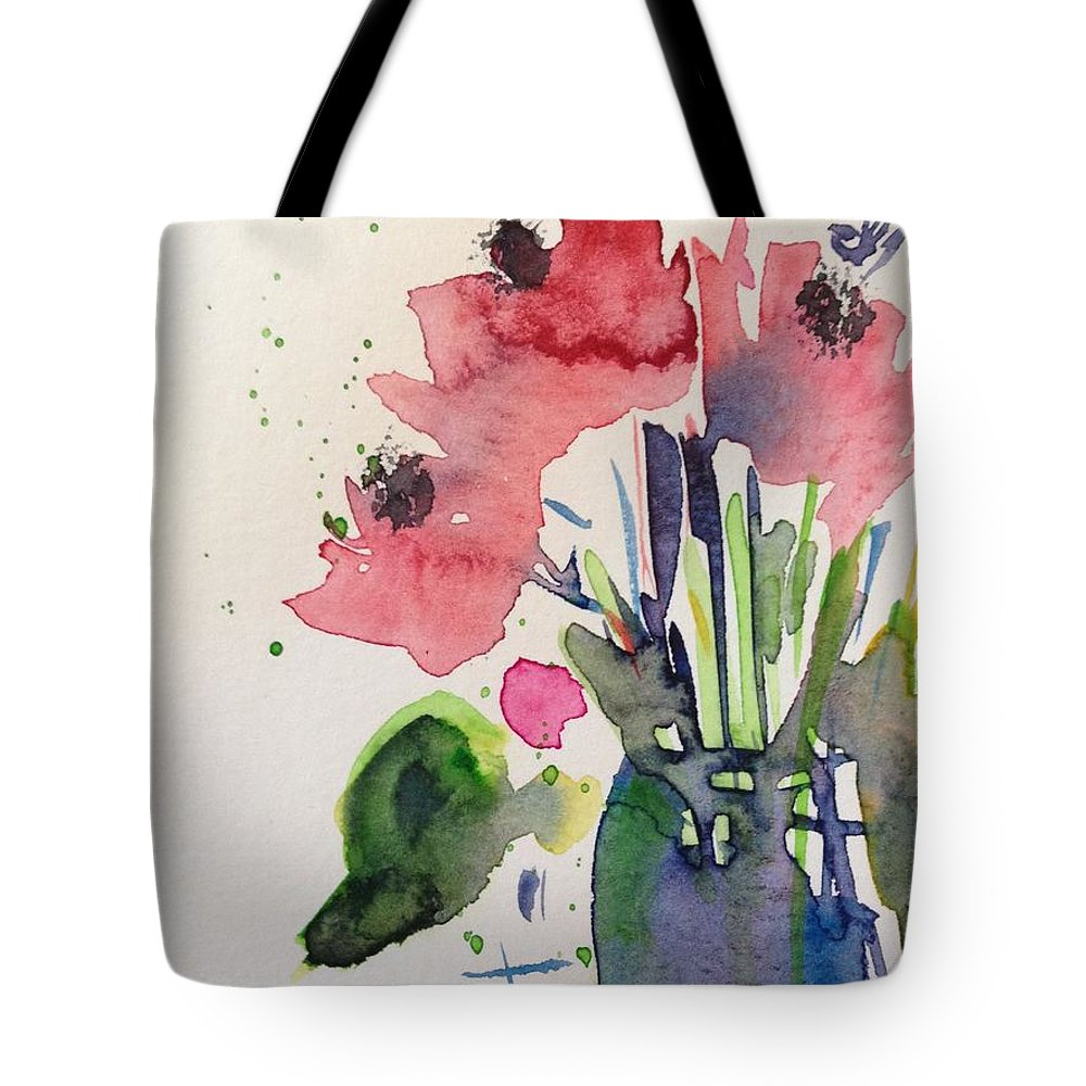 Poppy Flowers Tote Bag For Sale By Britta Zehm