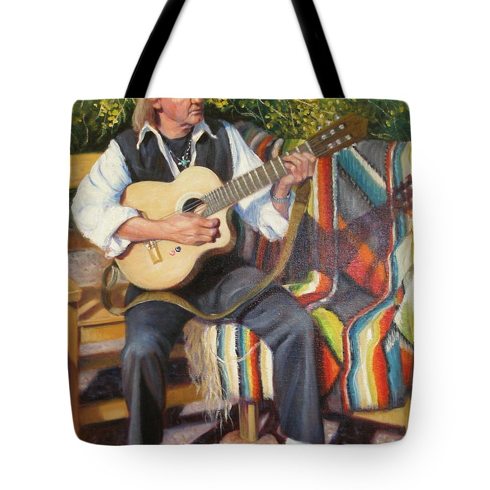 Realism Tote Bag featuring the painting Por Tu Amor by Donelli DiMaria