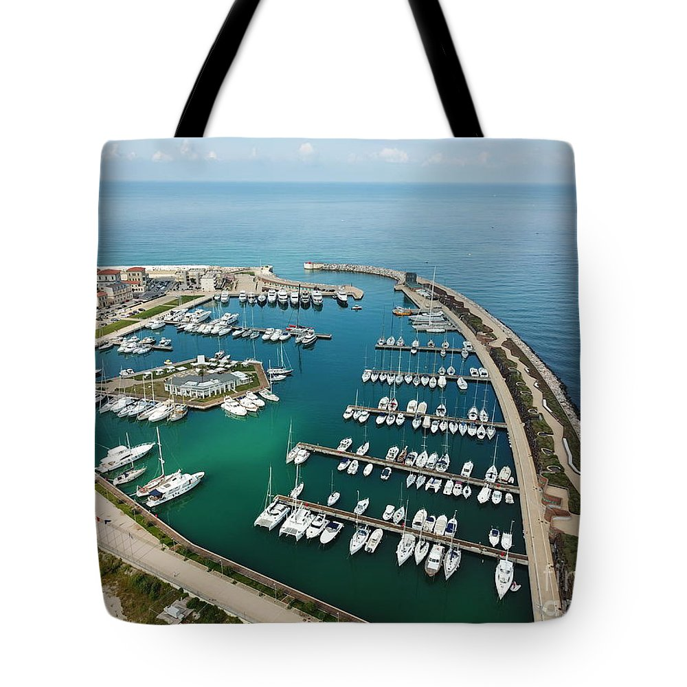 Pisa Tote Bag featuring the photograph Port Di Pisa by Raynor Garey