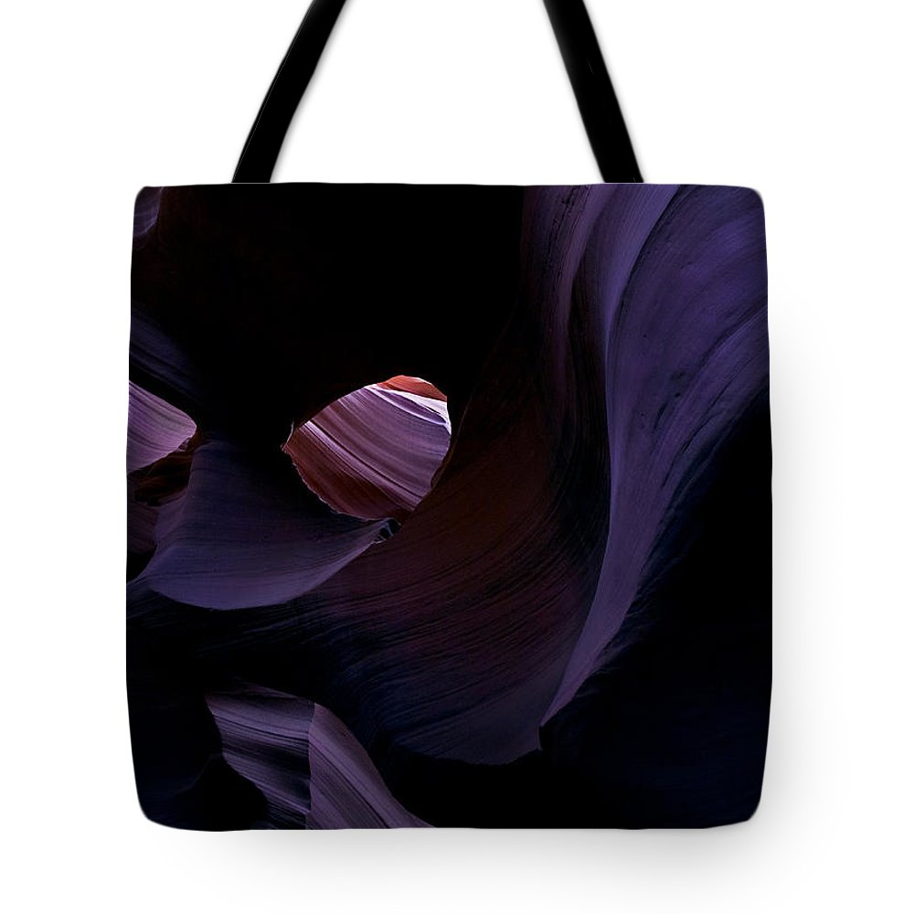 Desert Tote Bag featuring the photograph Portal by Mike Dawson
