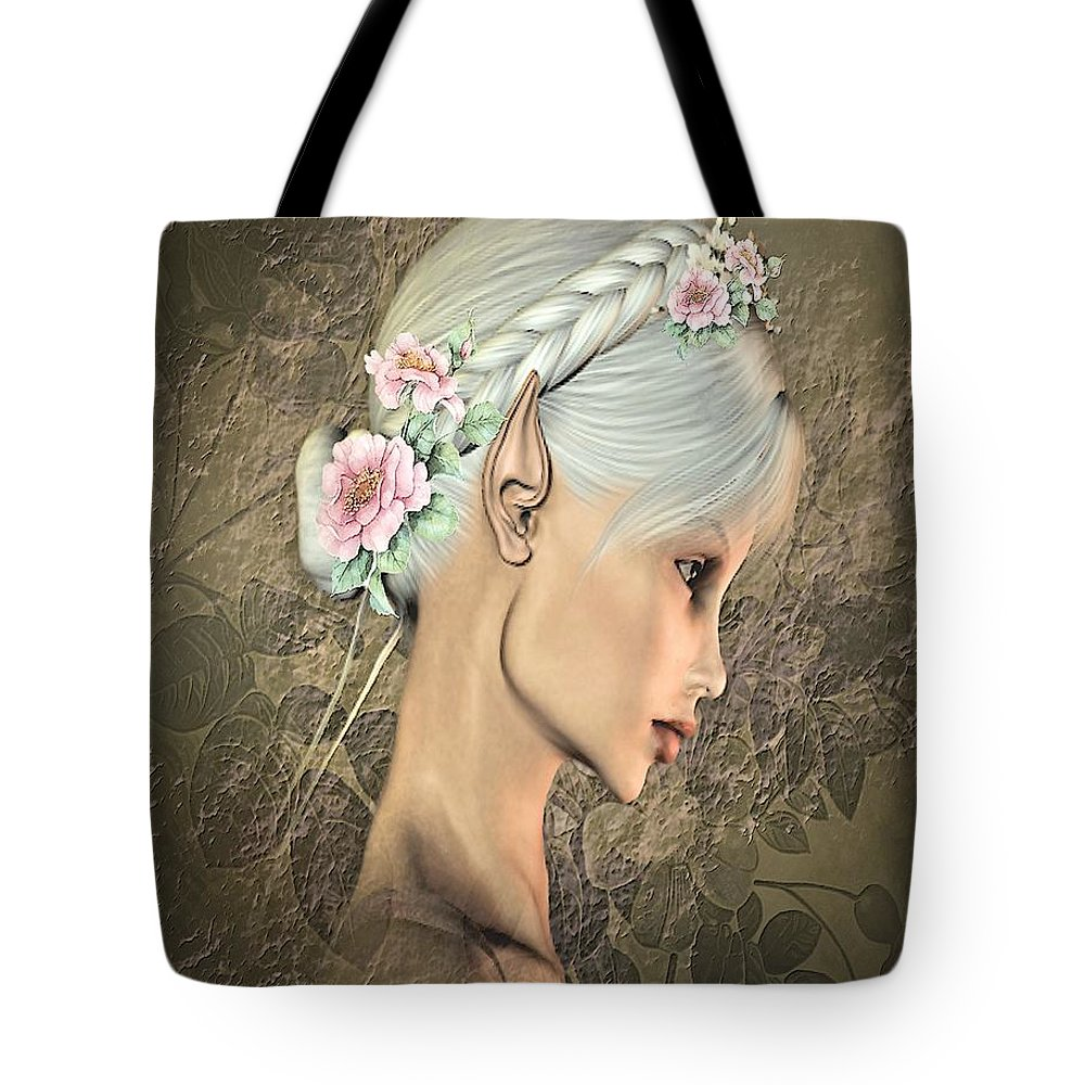 Portraits Tote Bag featuring the photograph Portrait Of An Elf by G Berry