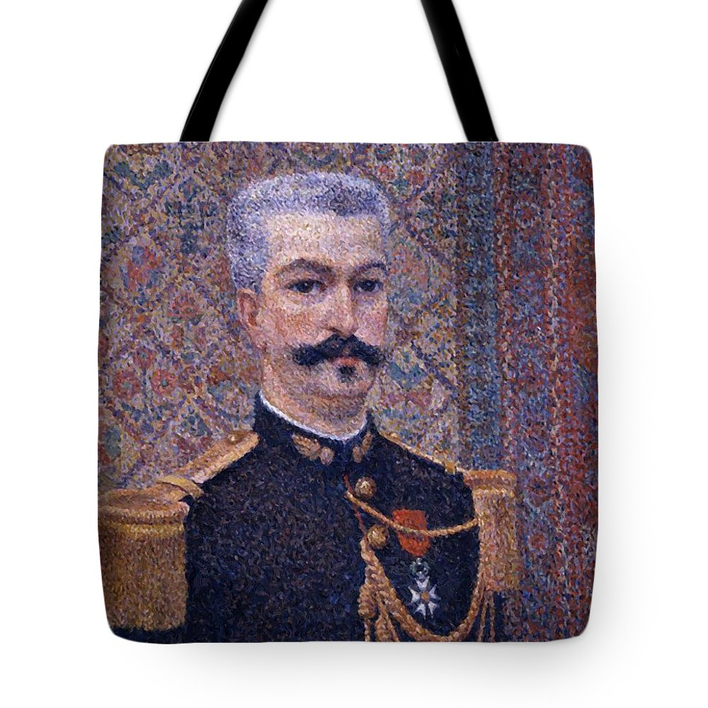 Portrait Tote Bag featuring the painting Portrait Of Monsieur Pool 1887 by DuboisPillet Albert