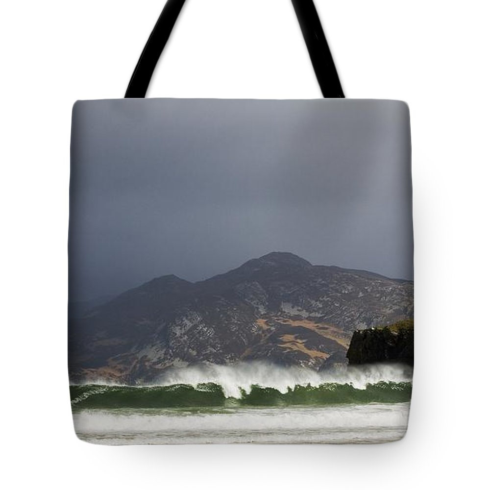 Natural Tote Bag featuring the photograph Portsalon County Donegal Ireland by Peter McCabe