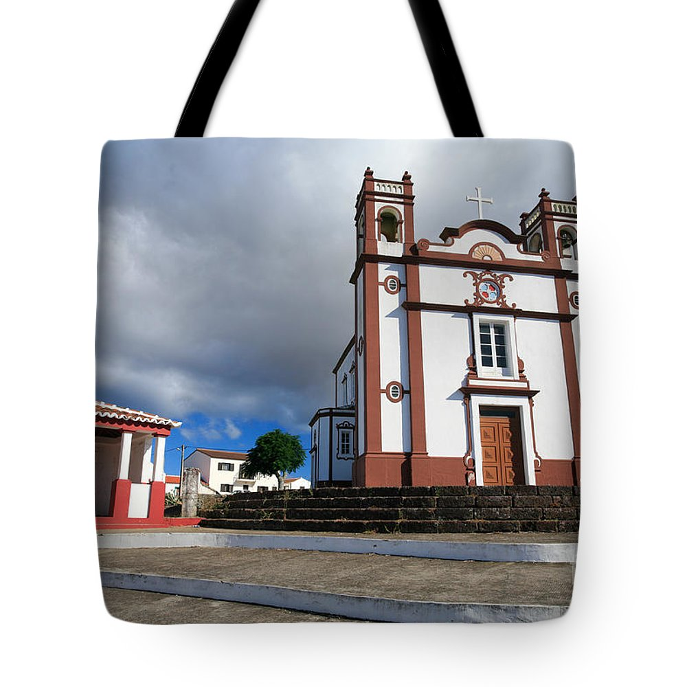 Architecture Tote Bag featuring the photograph Portuguese Church by Gaspar Avila