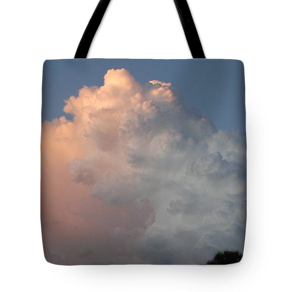 Clouds Tote Bag featuring the photograph Post Card Clouds by Rob Hans