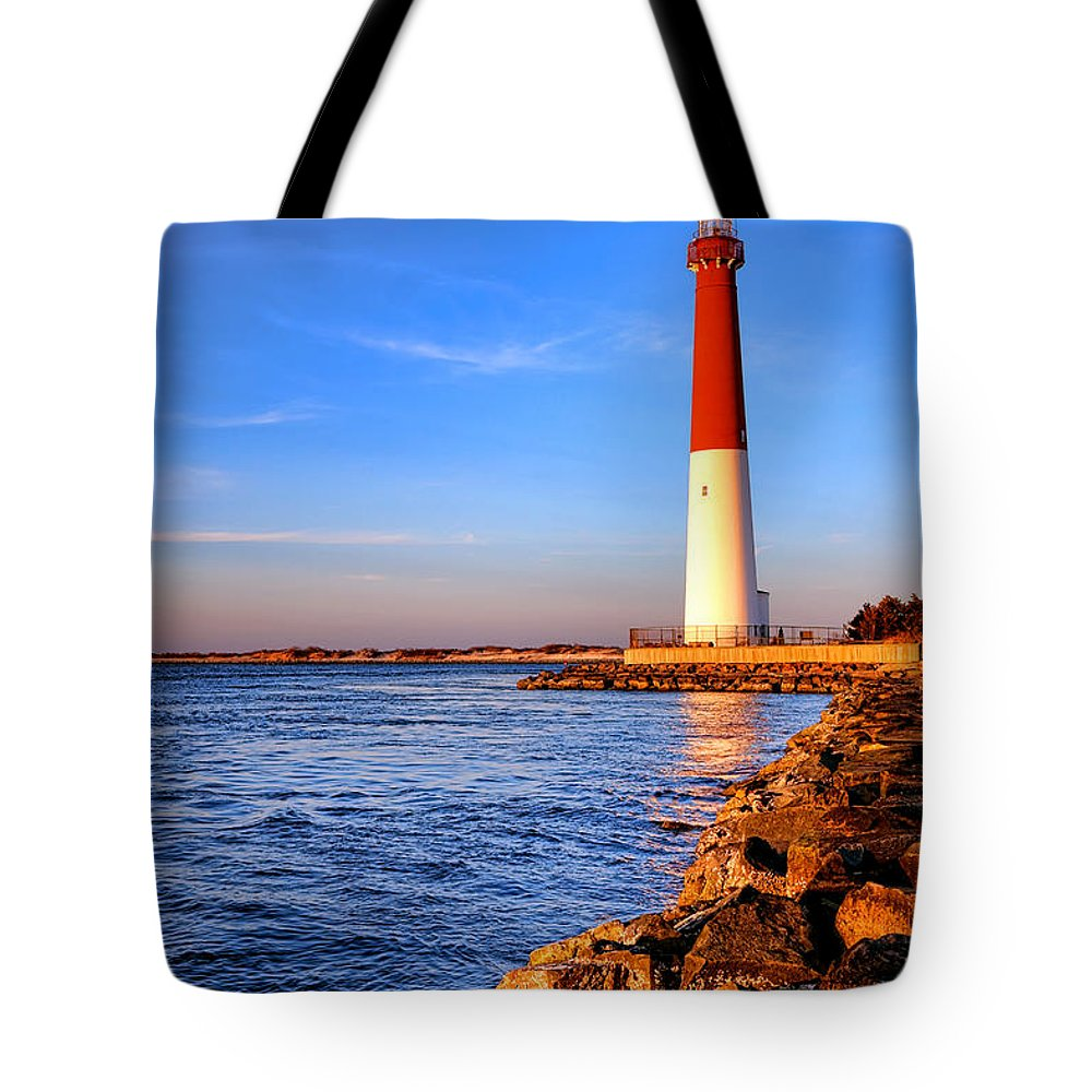 New Tote Bag featuring the photograph Postcard From Barnegat by Olivier Le Queinec