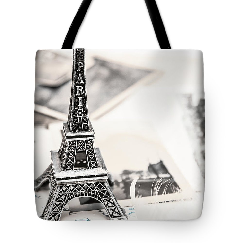 Postcard Tote Bag featuring the photograph Postcards And Letters From Paris by Jorgo Photography - Wall Art Gallery