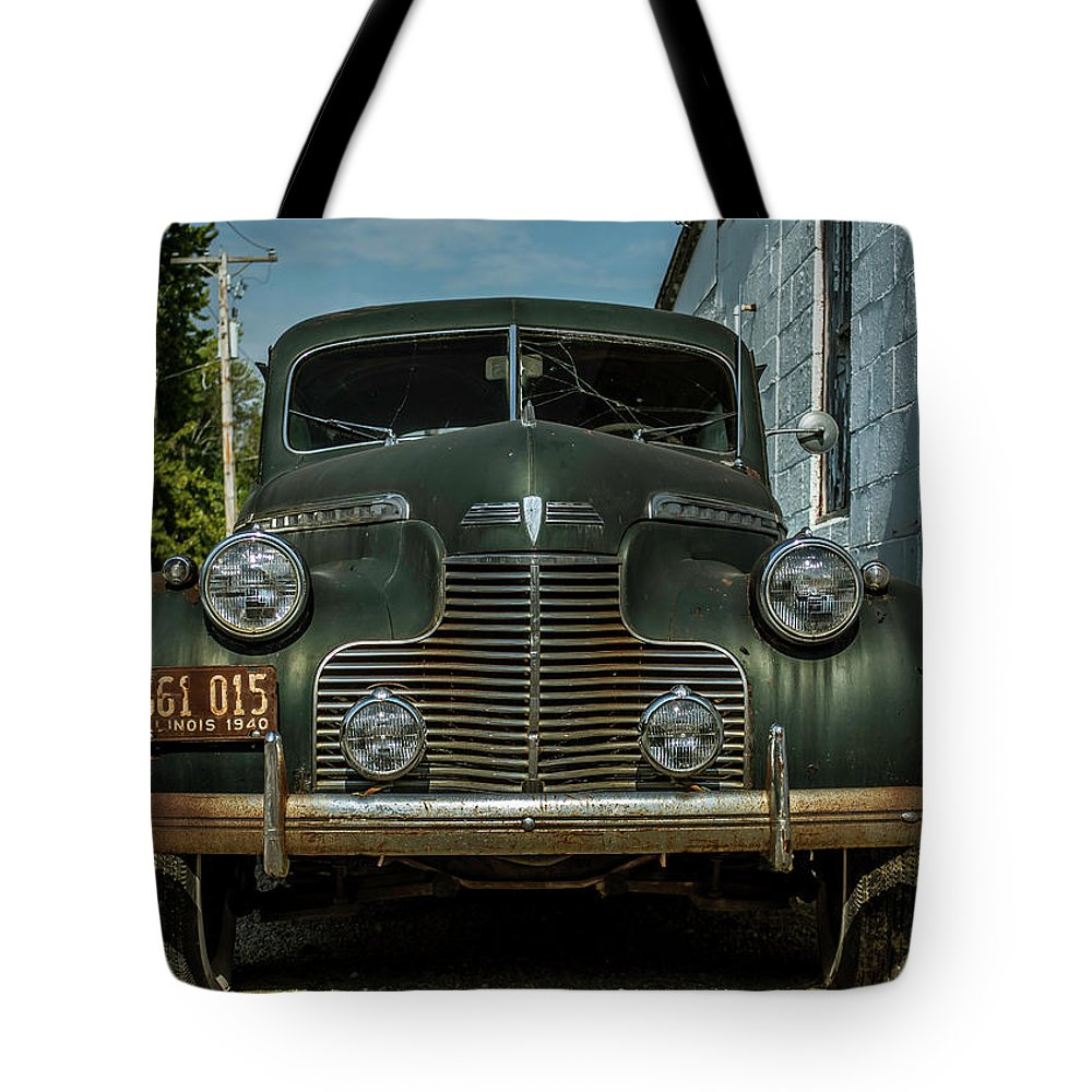 Automobile Tote Bag featuring the photograph Potential Energy by Enzwell Designs