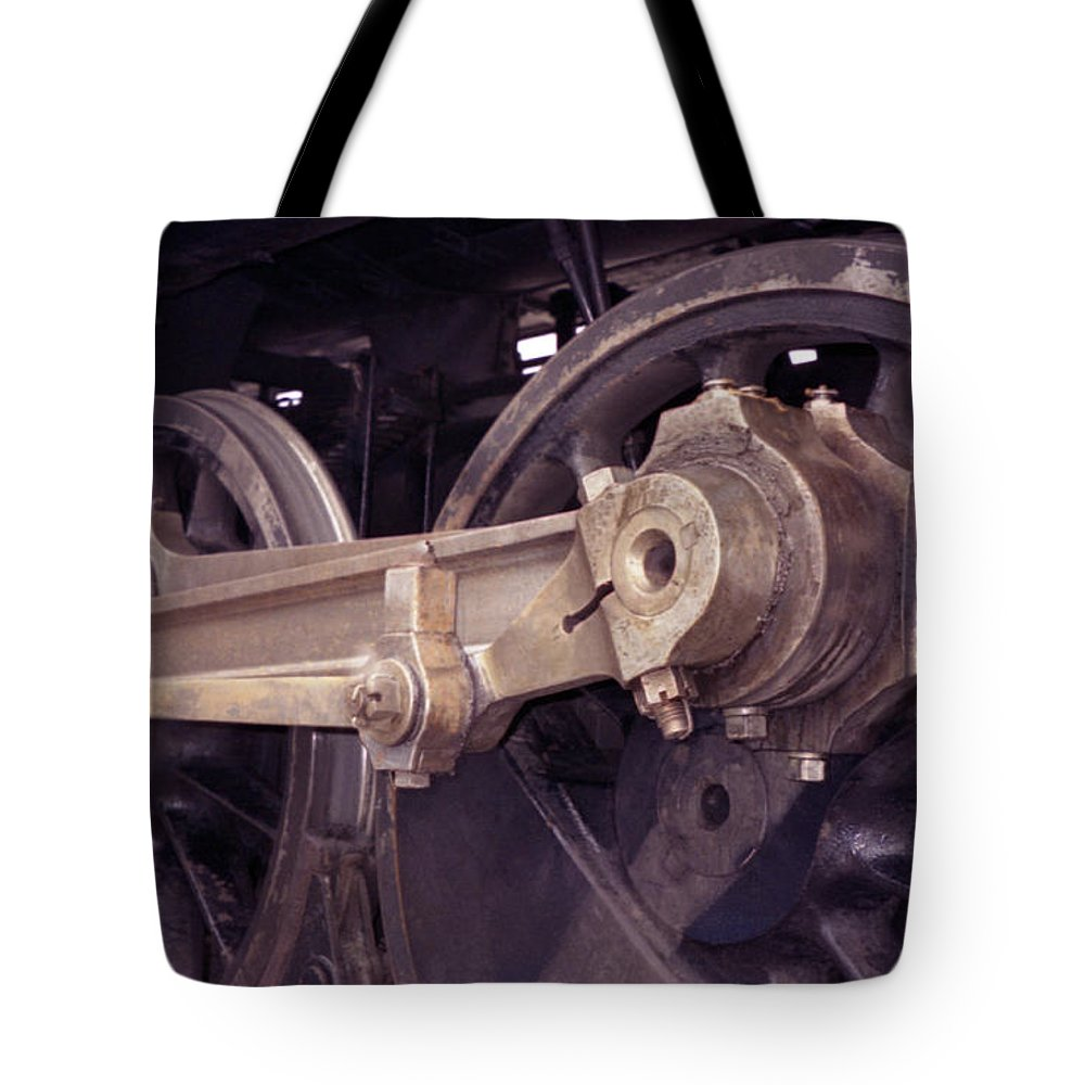 Trains Tote Bag featuring the photograph Power Train by Richard Rizzo