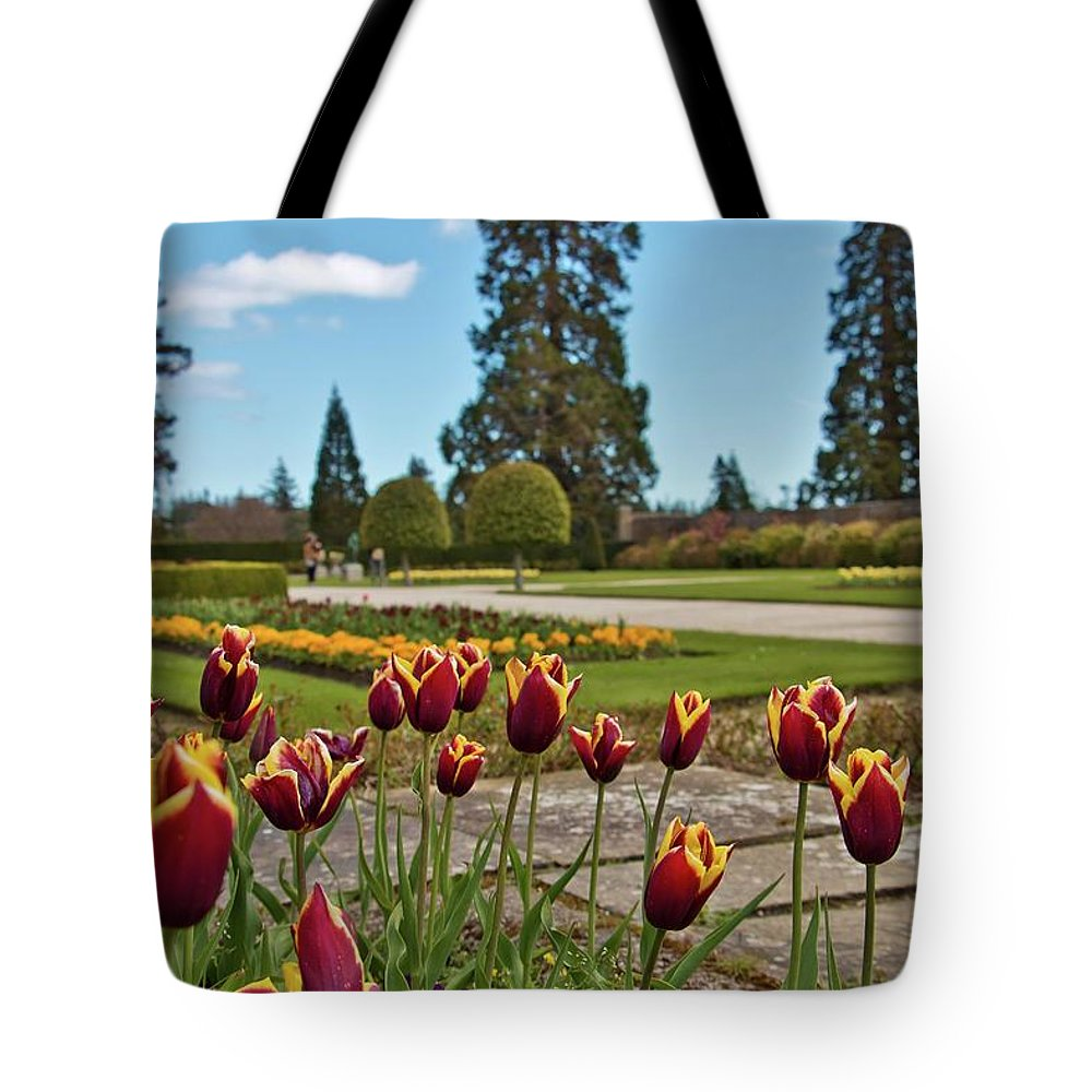 Powerscourt Estate Tote Bag featuring the photograph Powerscourt Estate 9 by Marisa Geraghty Photography