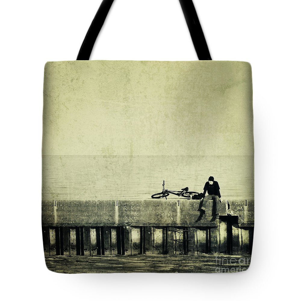 Man Tote Bag featuring the photograph Praying To A God I Dont Believe In by Dana DiPasquale