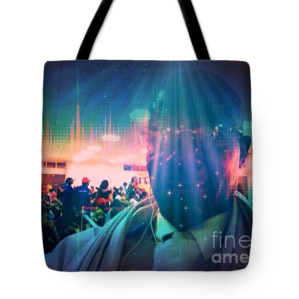 Fania Simon Tote Bag featuring the photograph Presence by Fania Simon