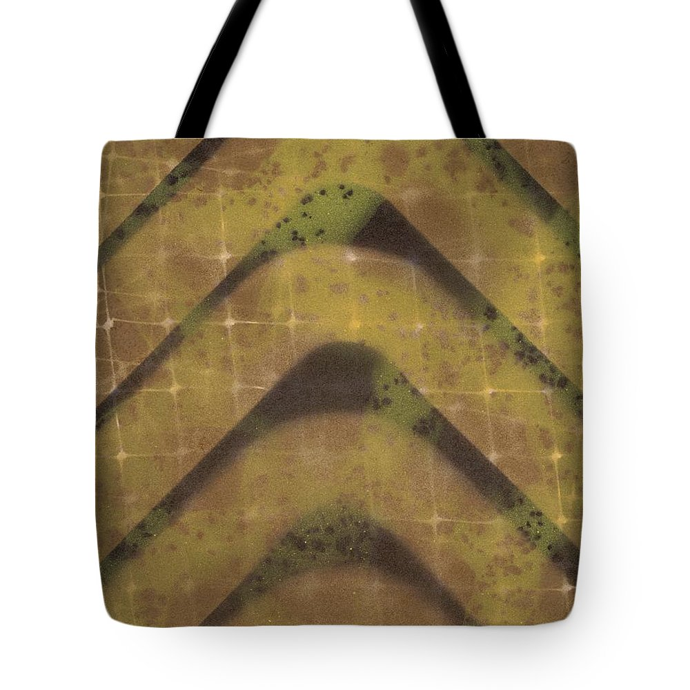 Preserving Power Two Tote Bag featuring the painting Preserving Power Two by David Jacobi
