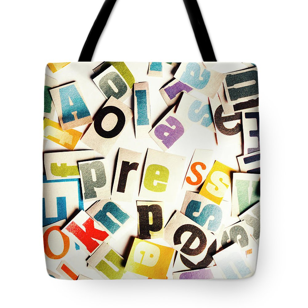 Cutout Tote Bags