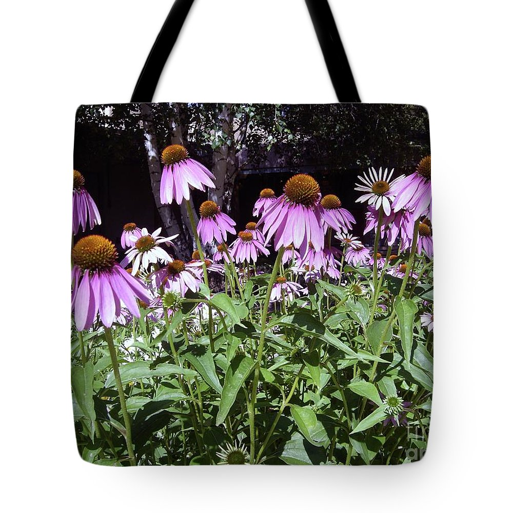 Flowers Tote Bag featuring the photograph Pretty In Pink by Mary Rogers