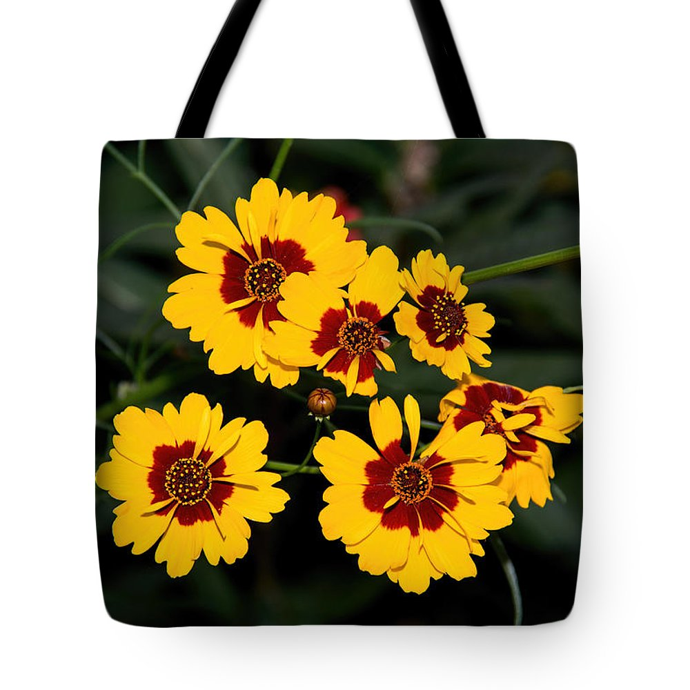 Flower Tote Bag featuring the photograph Pretty Yellow Flowers by John Black