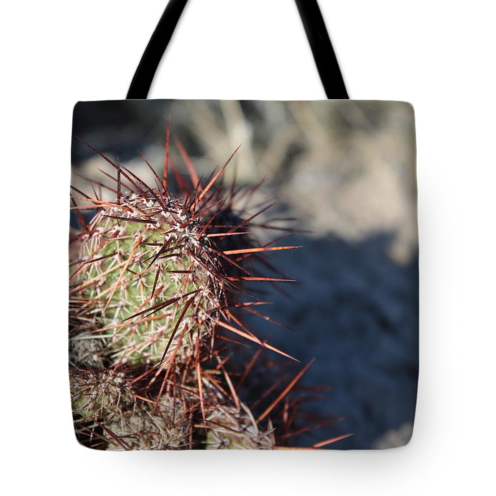 North Tote Bag featuring the photograph Prickly Pear by Nicholas Miller
