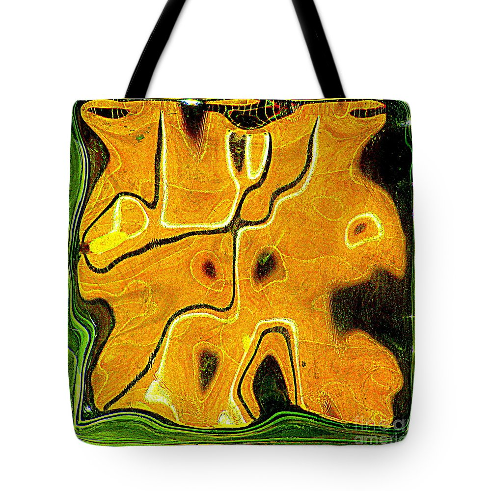Native Tote Bag featuring the photograph Primal by Randall Weidner