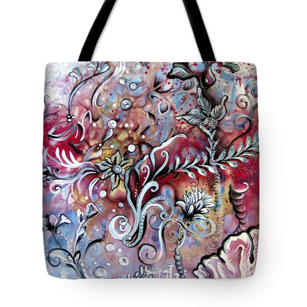 Art Tote Bag featuring the painting Primavera by Shadia Derbyshire