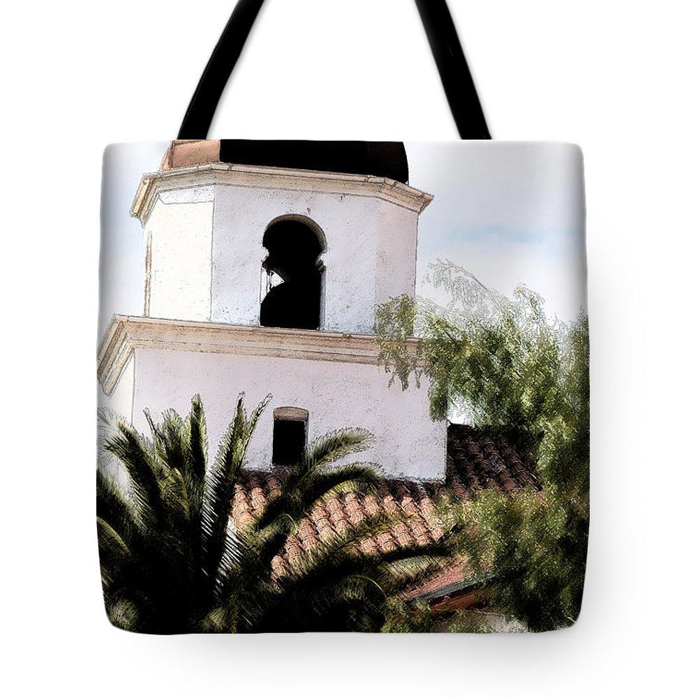 Church Tote Bag featuring the photograph Primera Iglesia Bautista by Linda Shafer