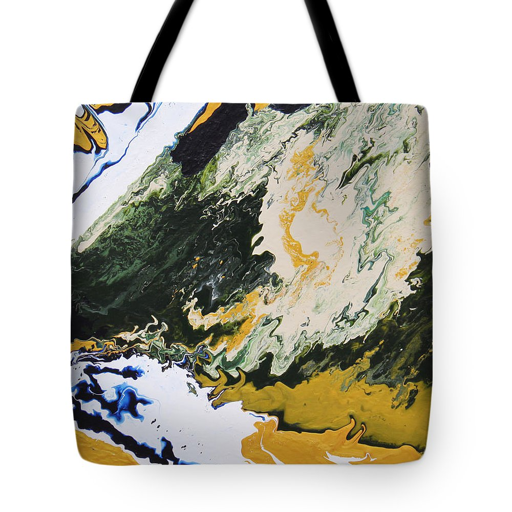 Fusionart Tote Bag featuring the painting Primeval by Ralph White