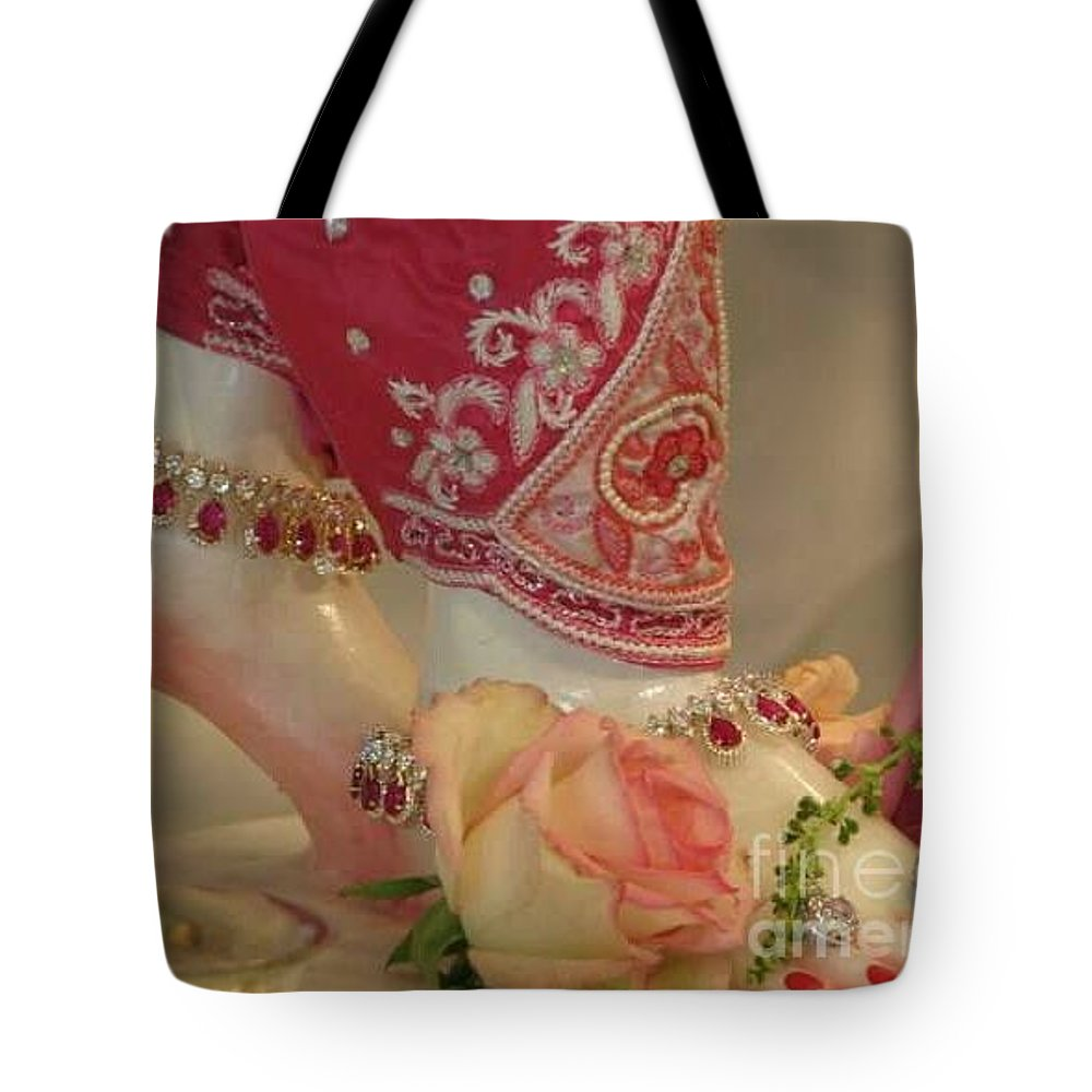 Feet Tote Bag featuring the photograph Princess Feet by Cindy Riley