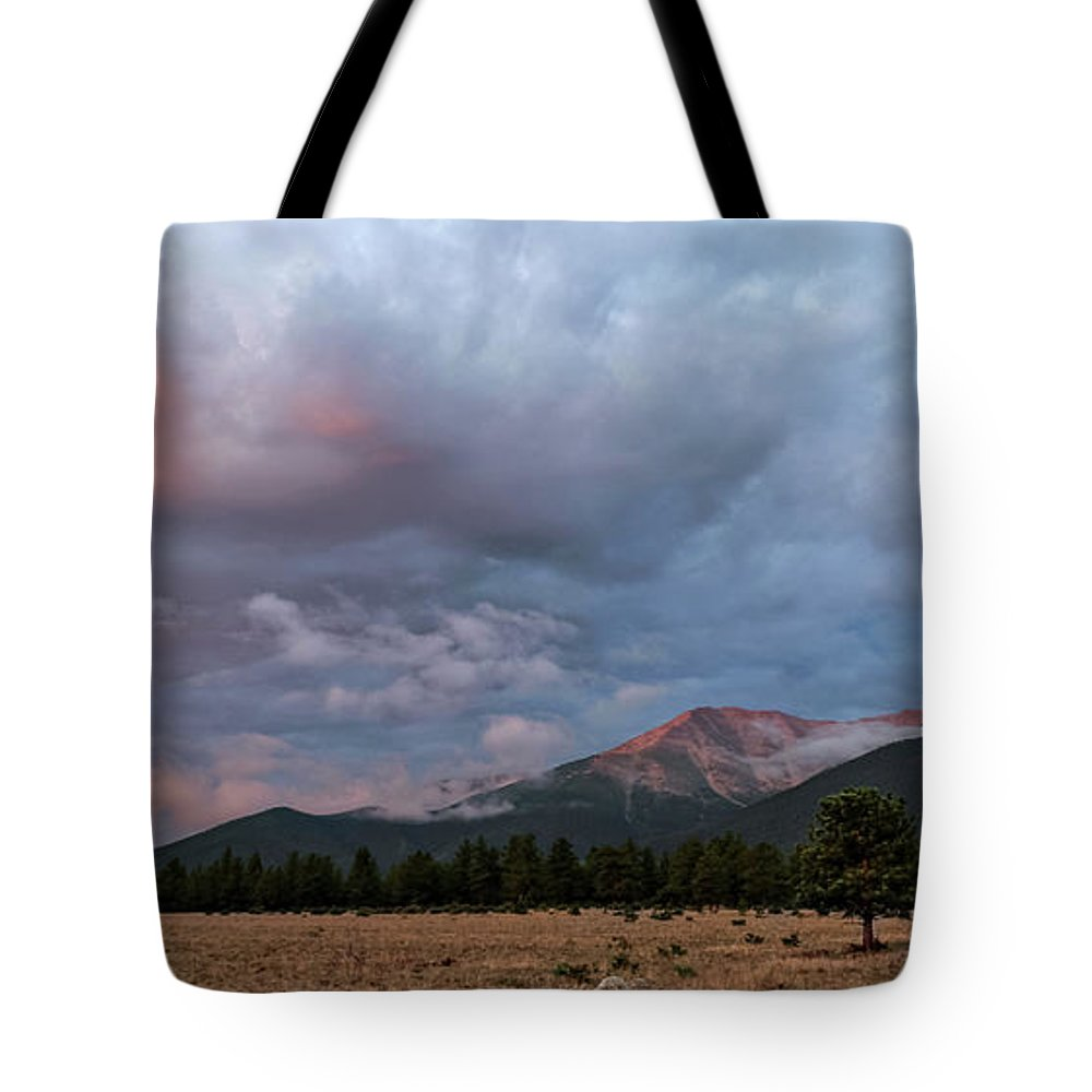 Tote Bag featuring the photograph Princeton Panorama 1 by Logan Myers