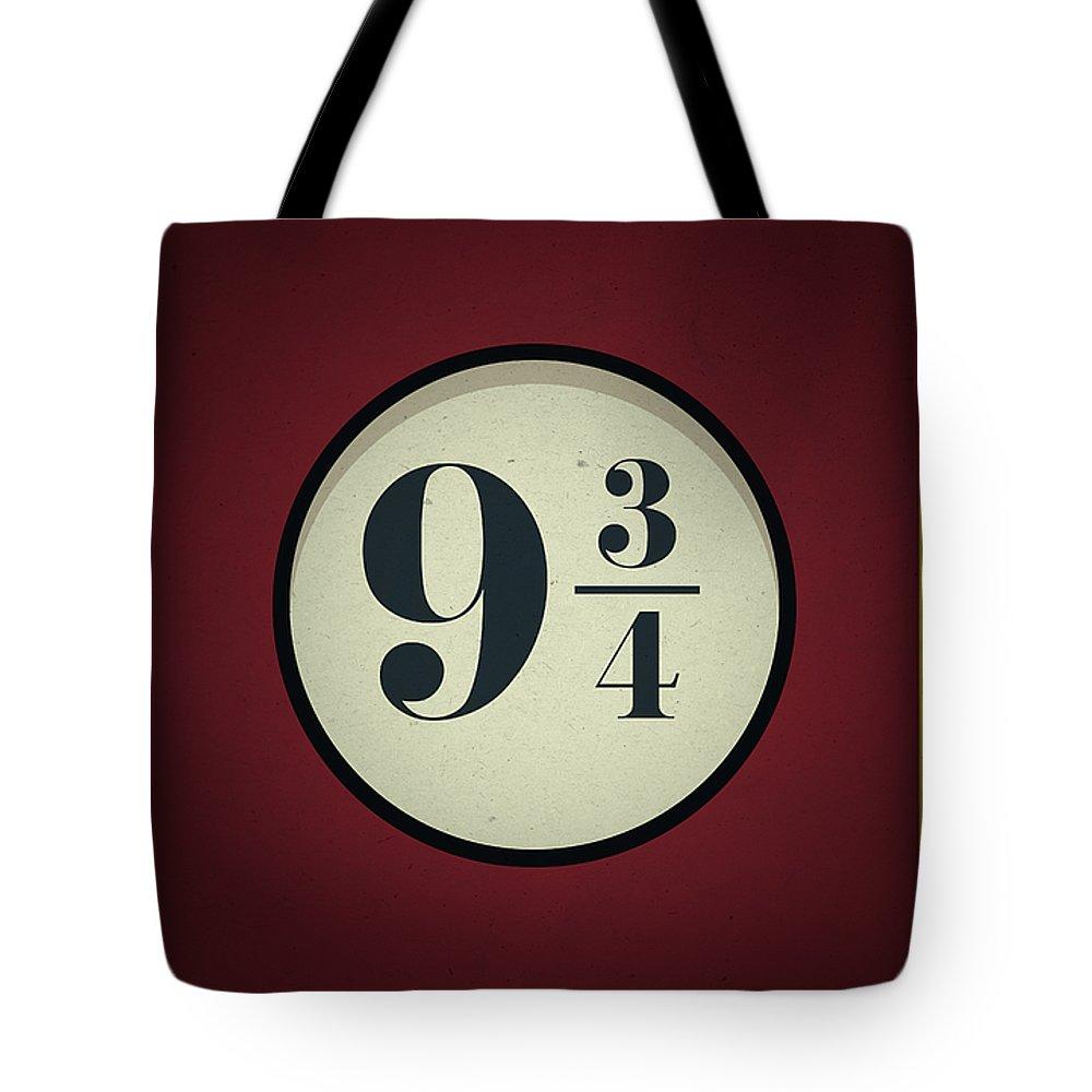 Snape Digital Art Tote Bags