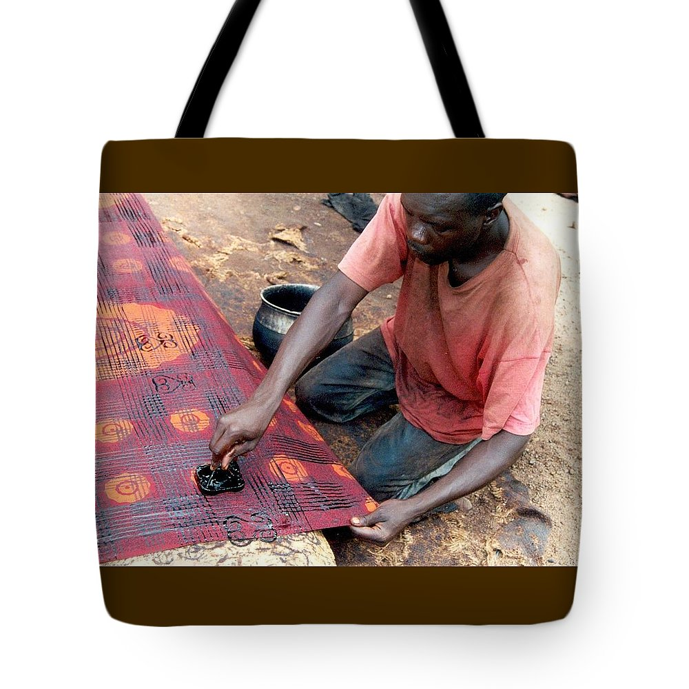 printing adinkra cloth tote bag for sale by trina marie phillips