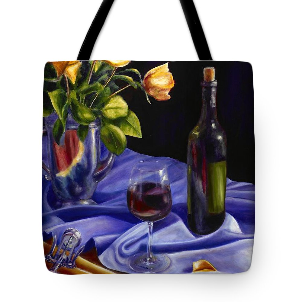 Still Life Tote Bag featuring the painting Private Label by Shannon Grissom