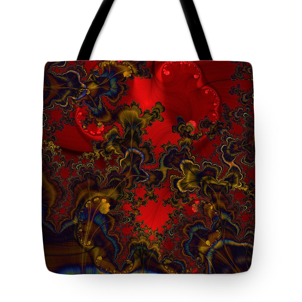 Graphic Art Tote Bag featuring the digital art Prodigy by Susan Kinney