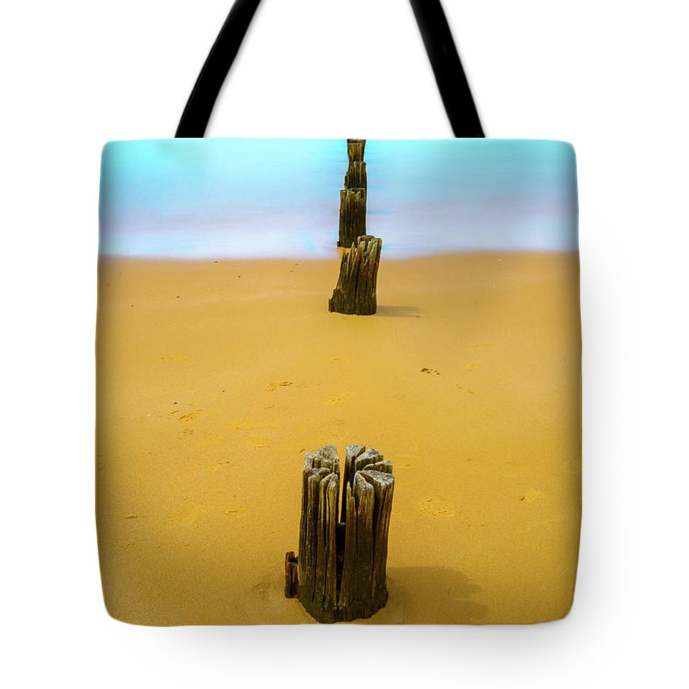Landscapes Tote Bag featuring the photograph Progress And Regress by DesignBoard Photography