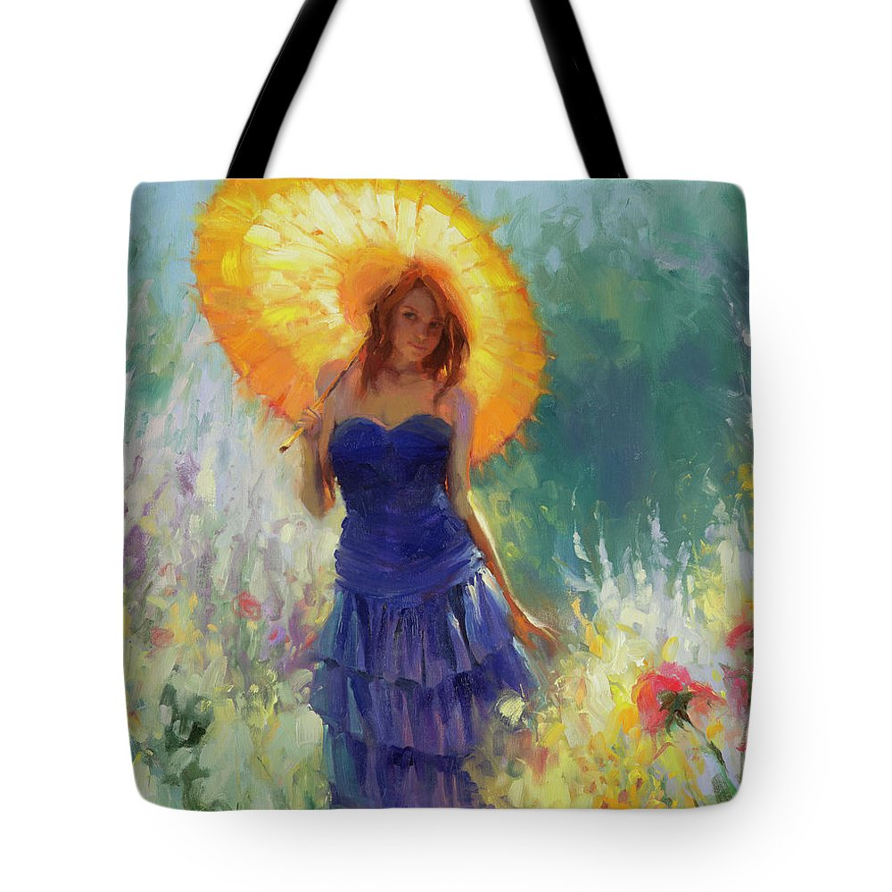 Red Hair Girl Tote Bags