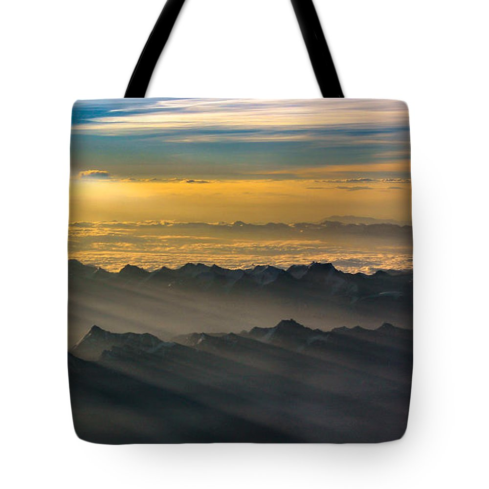 Promise Tote Bag featuring the photograph Promise by Anupam Gupta
