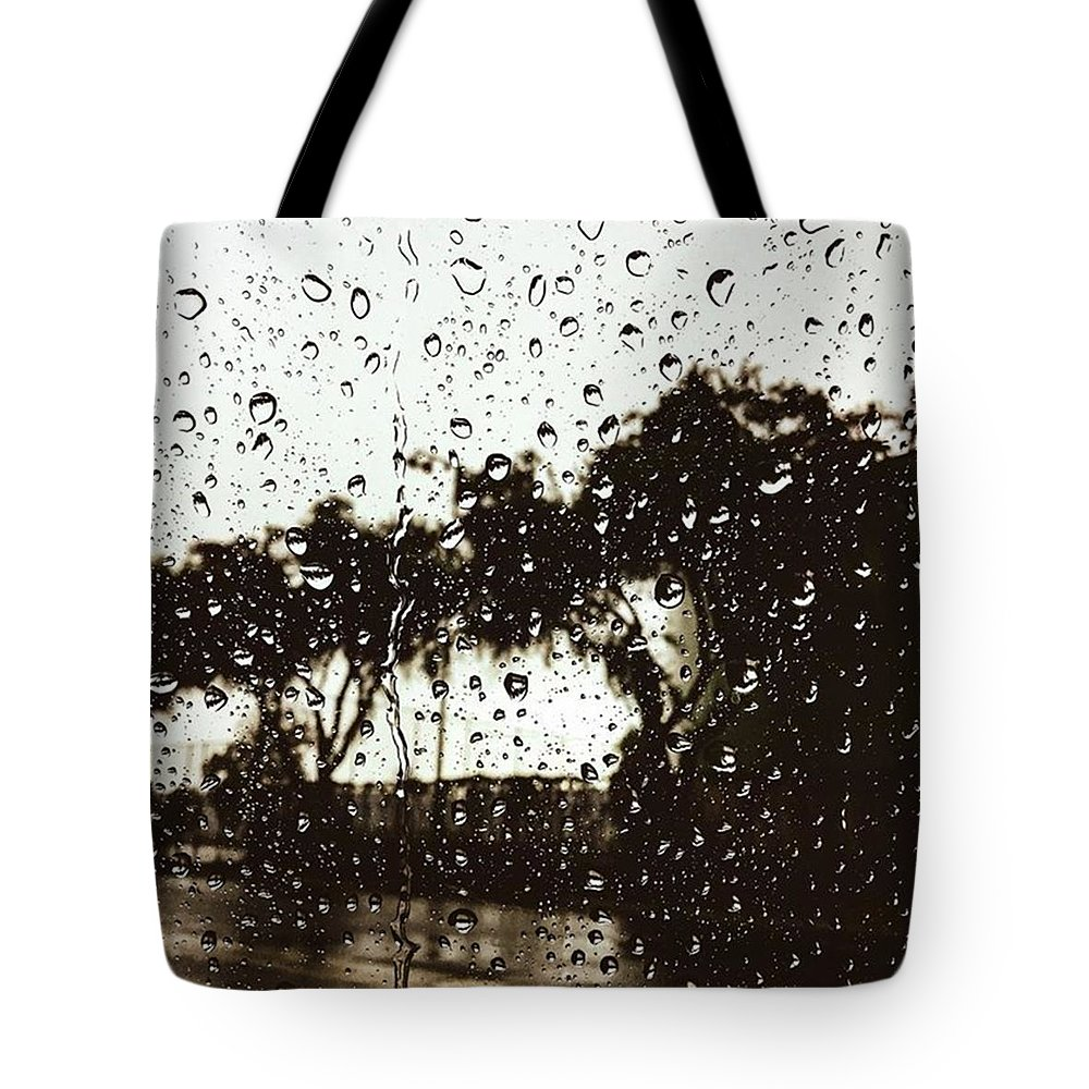 Rain Tote Bag featuring the photograph Promises by Leah McPhail