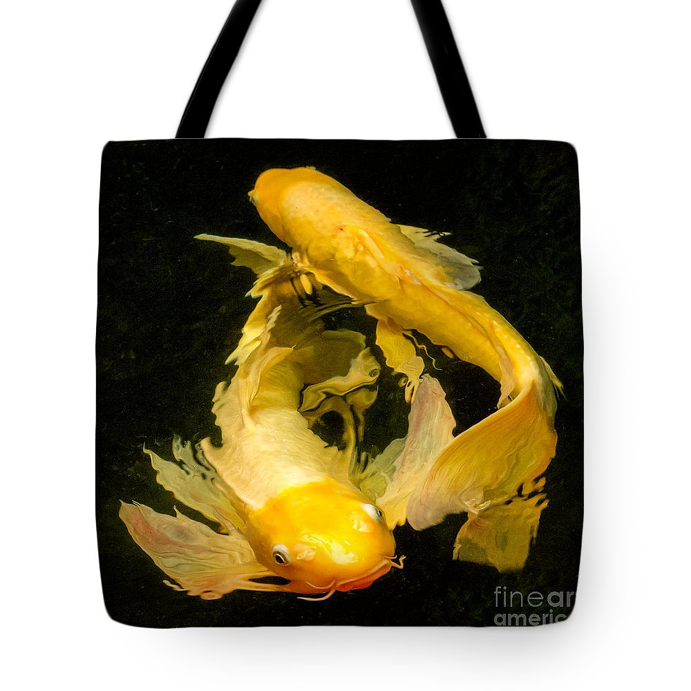 Botanical Gardens Tote Bag featuring the photograph Prosperity Together by Marilyn Cornwell
