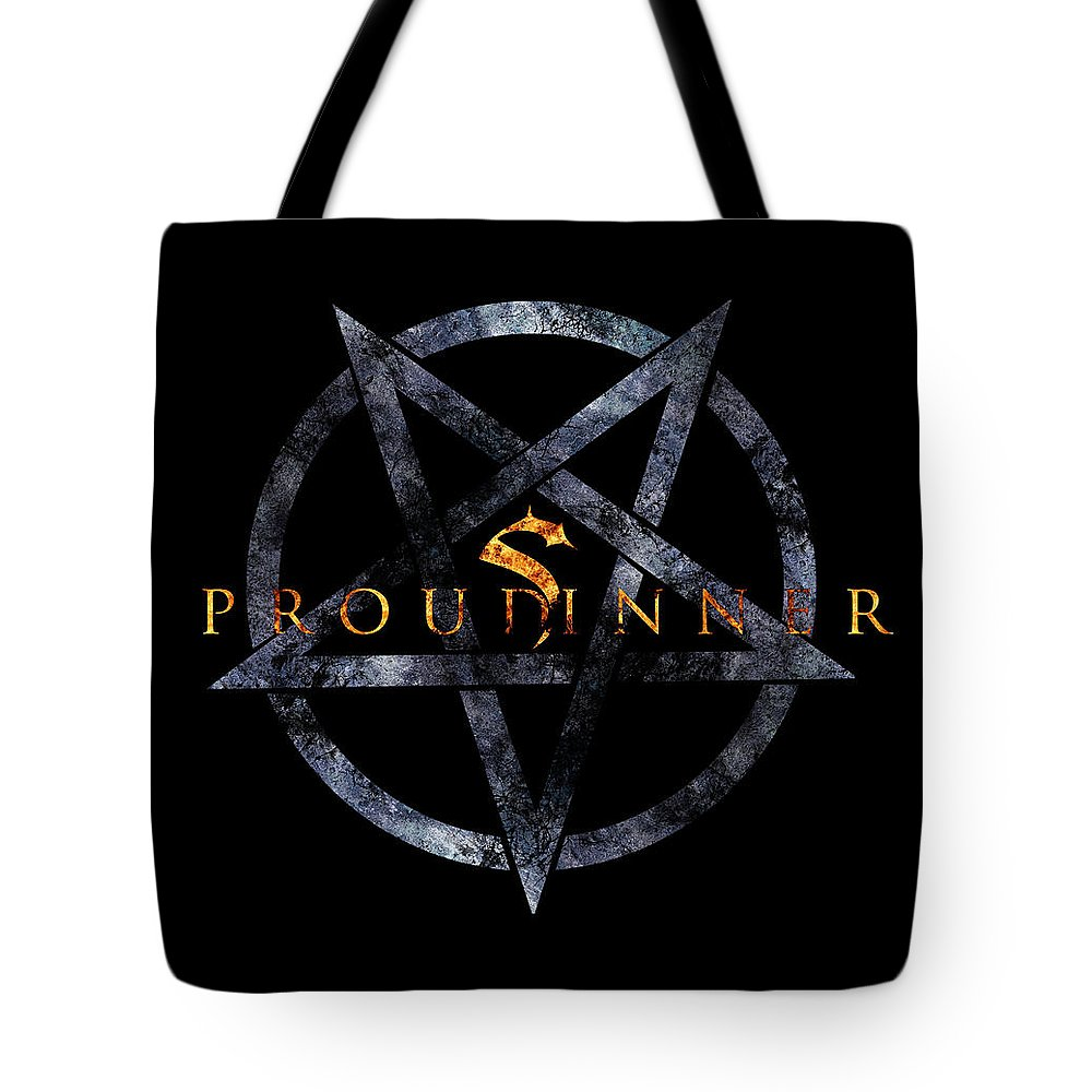 Fire Tote Bag featuring the digital art Proud Sinner by Priscilla Vogelbacher