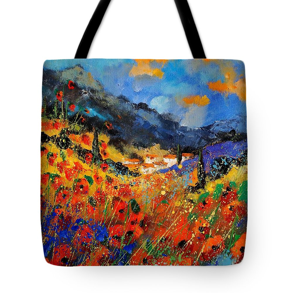 Tote Bag featuring the painting Provence 459020 by Pol Ledent