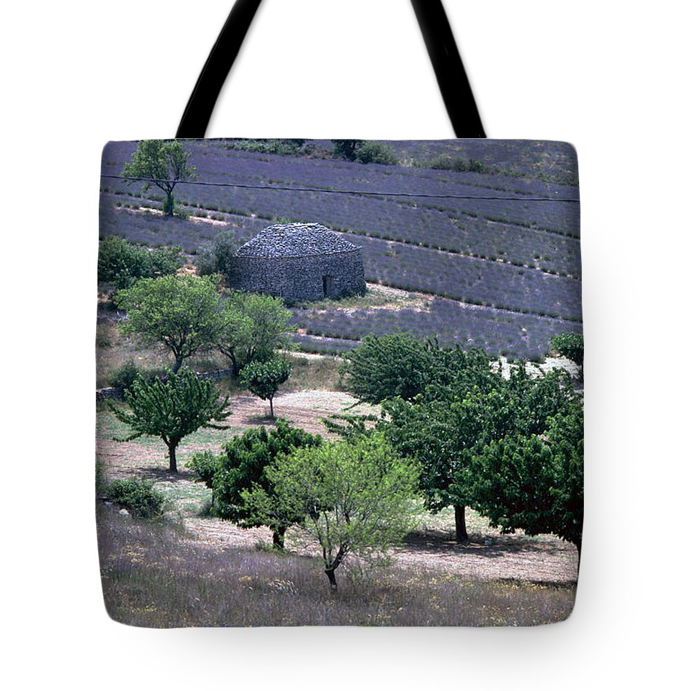 Provence Tote Bag featuring the photograph Provence by Flavia Westerwelle