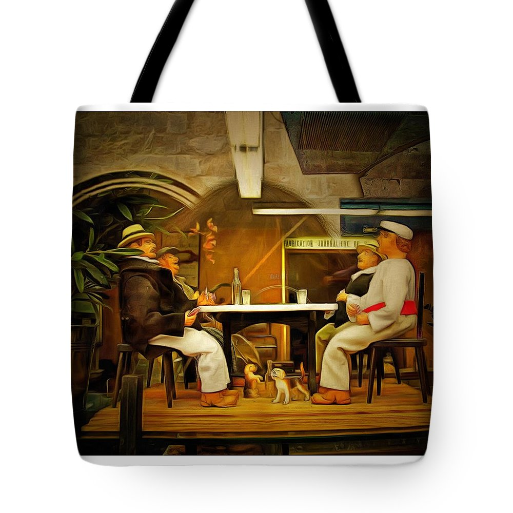 Provence Tote Bag featuring the photograph Provence Shop Window by PhotoArt By Gretchen