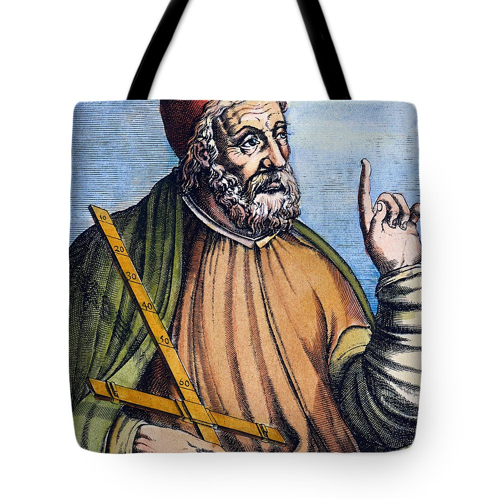 2nd Century Tote Bag featuring the photograph Ptolemy (2nd Century A.d.) by Granger