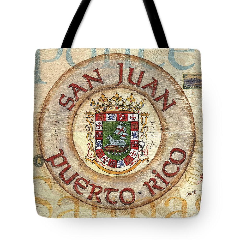 Puerto Rico Tote Bags